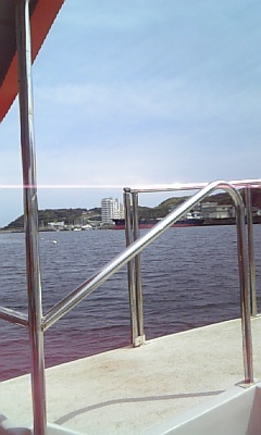 観音崎から浦賀へ