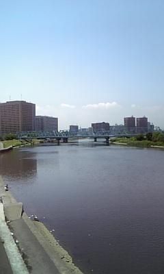 多摩川を渡って東京へ