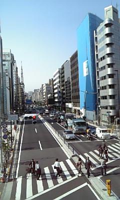 田町通過。3<br />  時45分