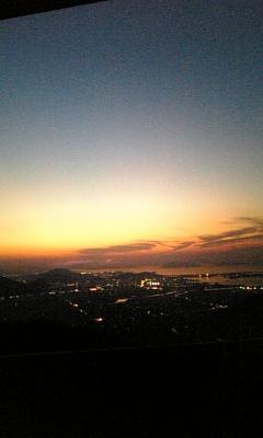 瀬戸の夕焼け