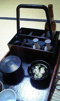 宿房の食事